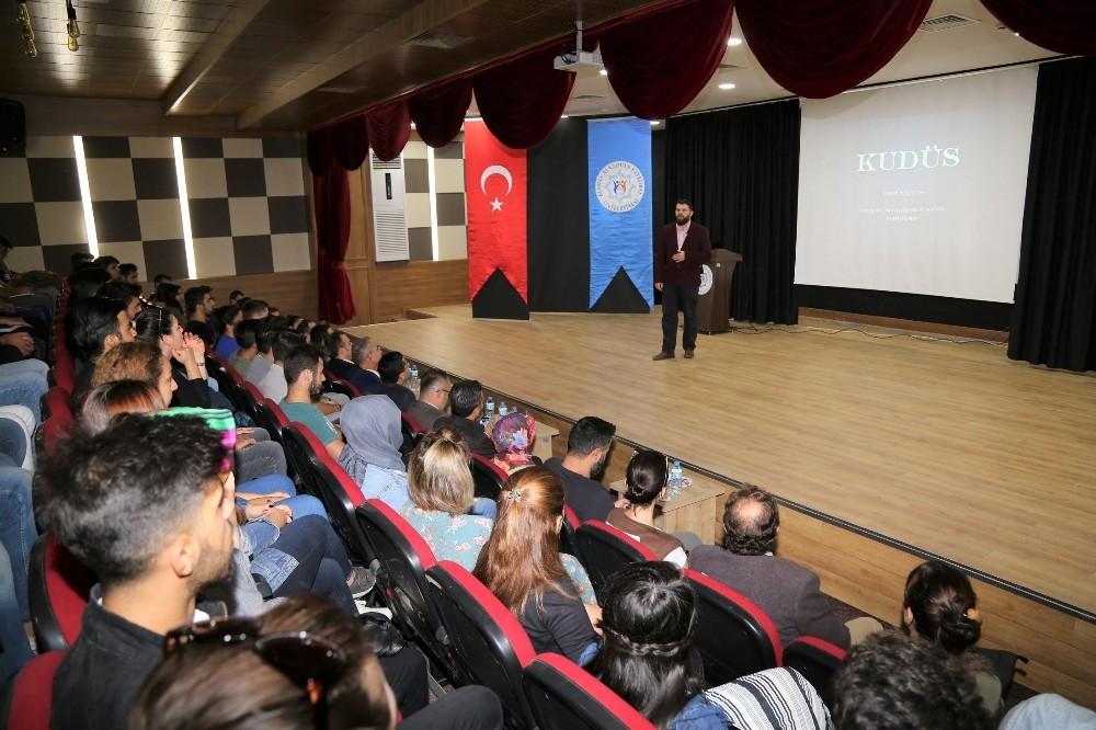 ALKÜ'lü öğrenciler Kudüs'ü uzmanından dinledi