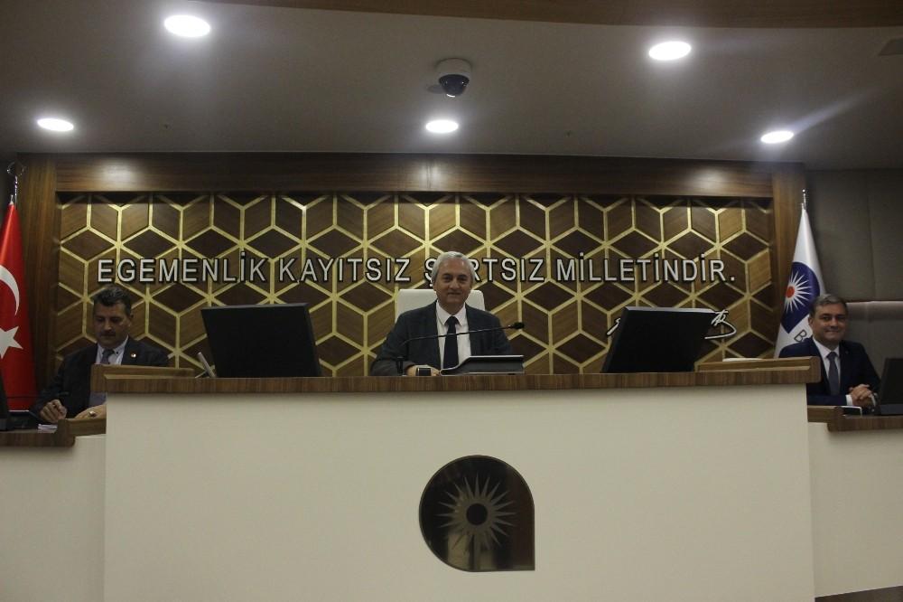Antalya Büyükşehir Meclisi toplantısı