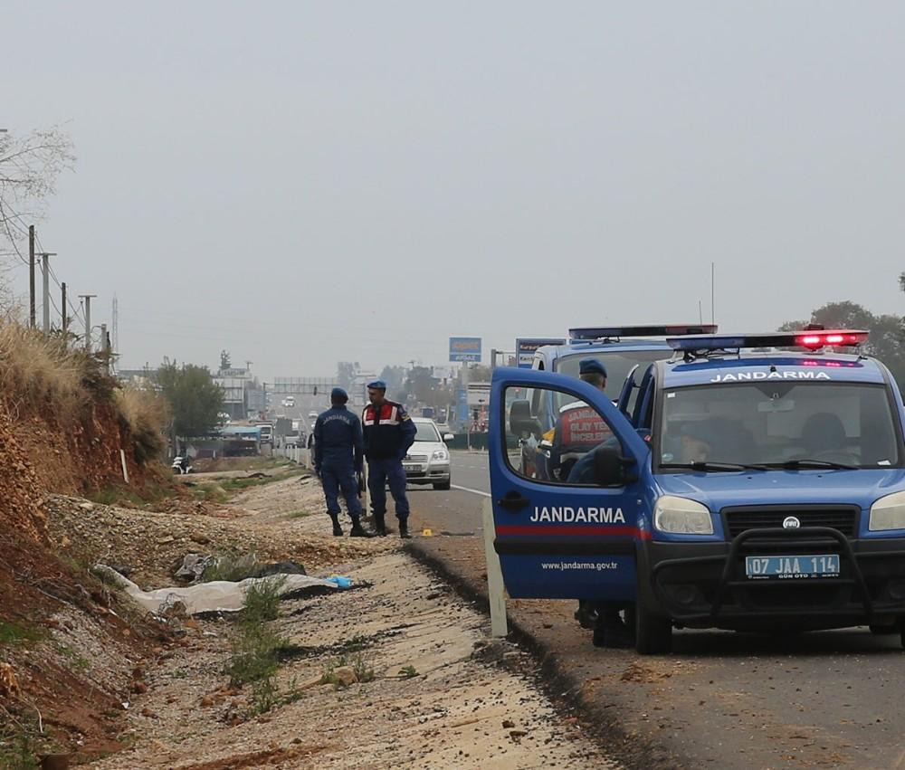 Antalya-Isparta karayolu üzerinde ölü bir şahıs bulundu