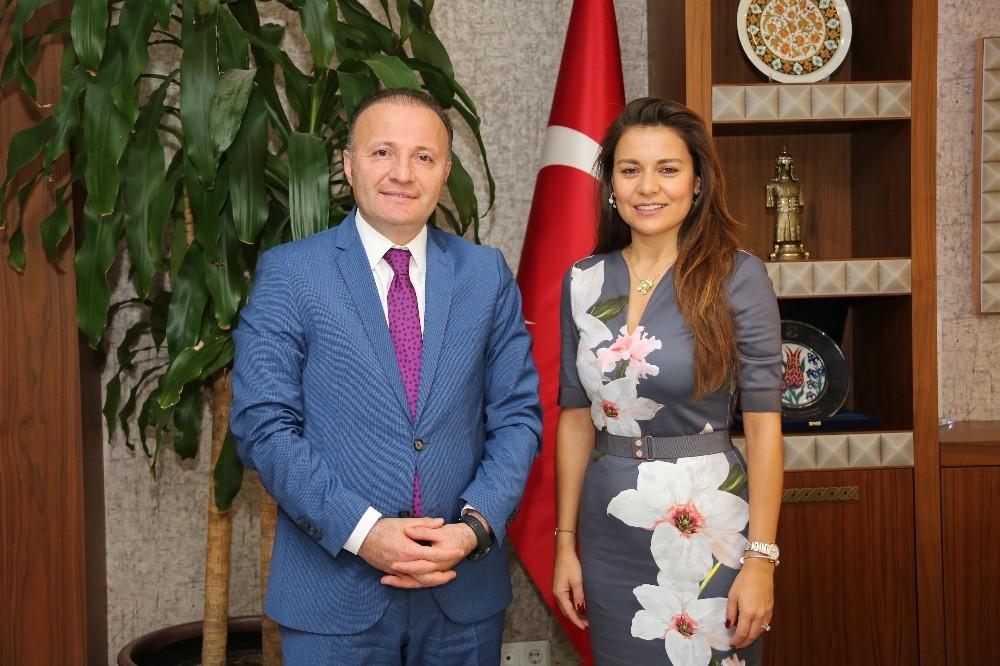 Antalya tanıtımı için protokol