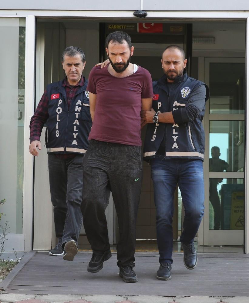 Antalya'da cinayet zanlısı tutuklandı