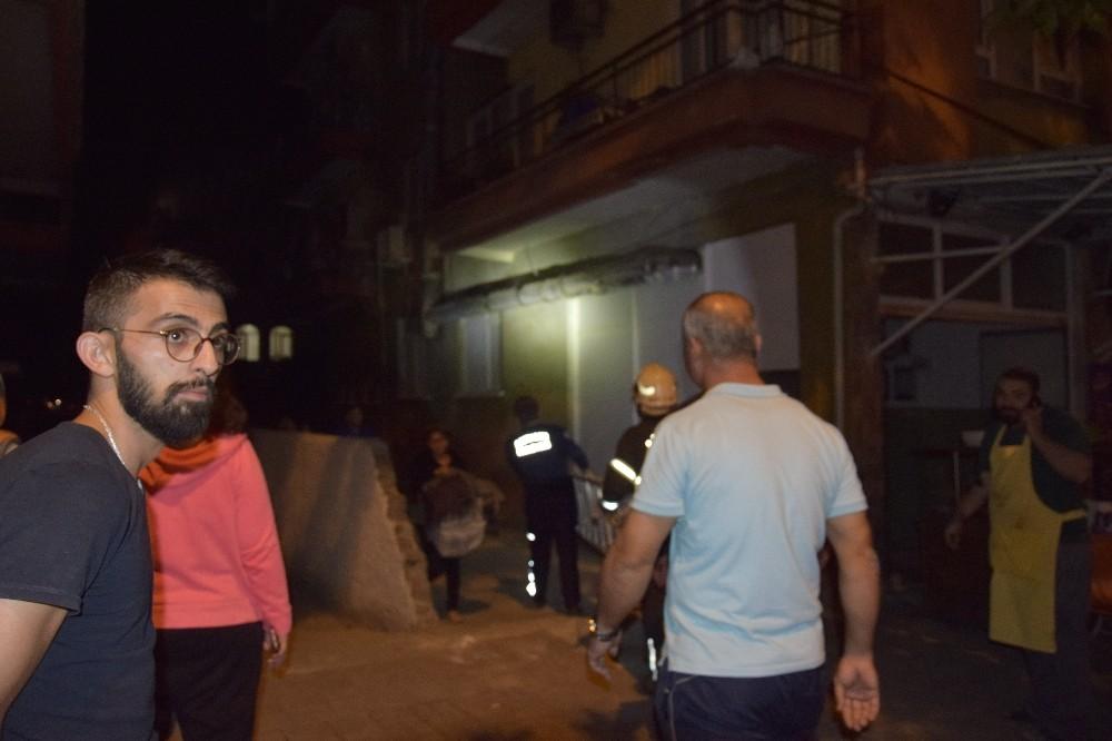 Antalya'da işyeri yangını