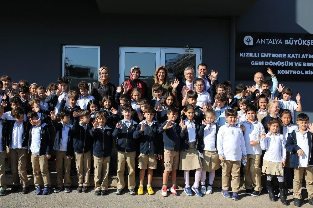 Antalya'da öğrenciler, 'Sıfır atık' dedi
