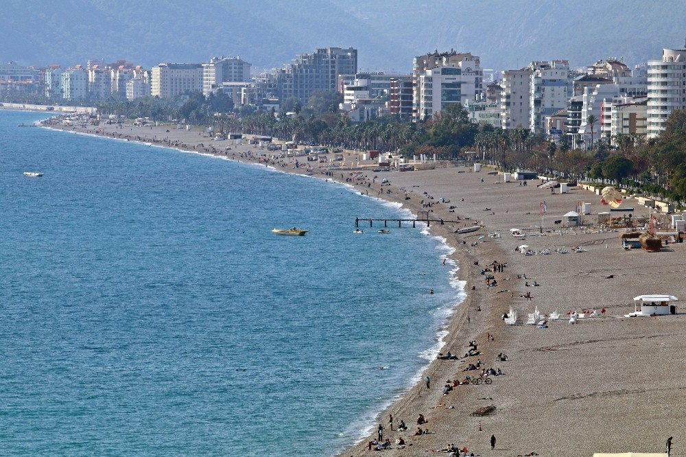 Antalya'dan Türkiye'yi kıskandıran görüntüler