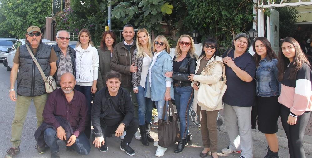 Antalya'nın ilk yerel televizyonun kurucu kadrosu bir araya geldi