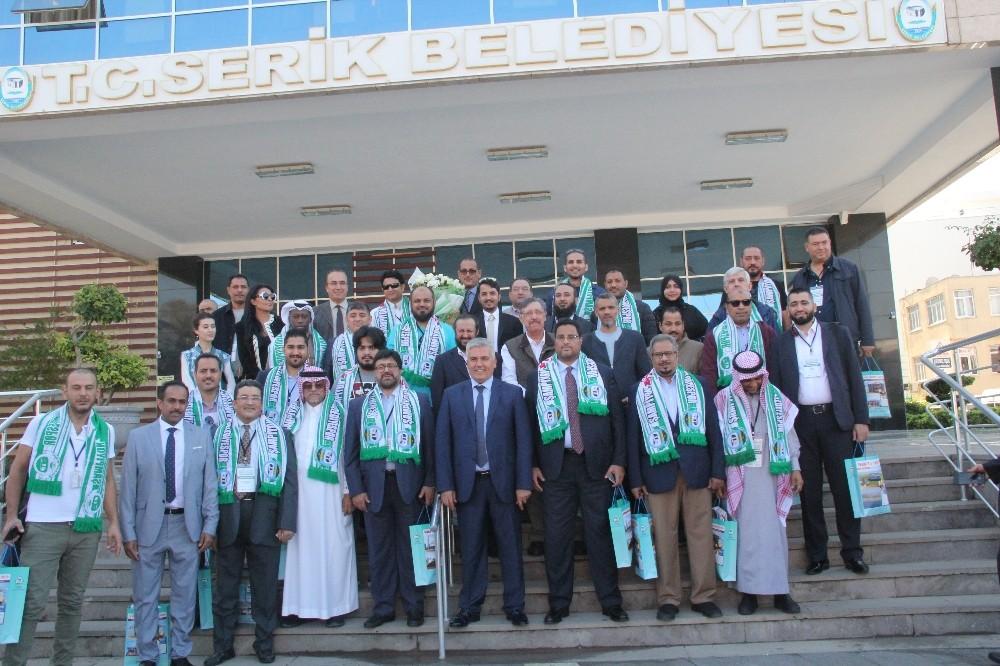 Arap yatırımcılar Serik Belediyesinde