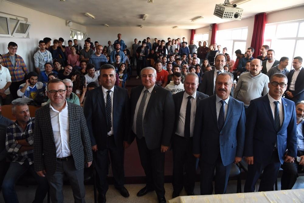 """ATSO Başkanı Çetin: """"Yetişmiş ara elemana ihtiyaç var"""""""