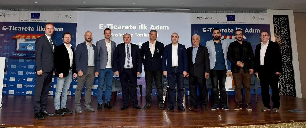 """ATSO ve Avrupa Birliği İşbirliğinde """"E-Ticarete İlk Adım Programı"""""""
