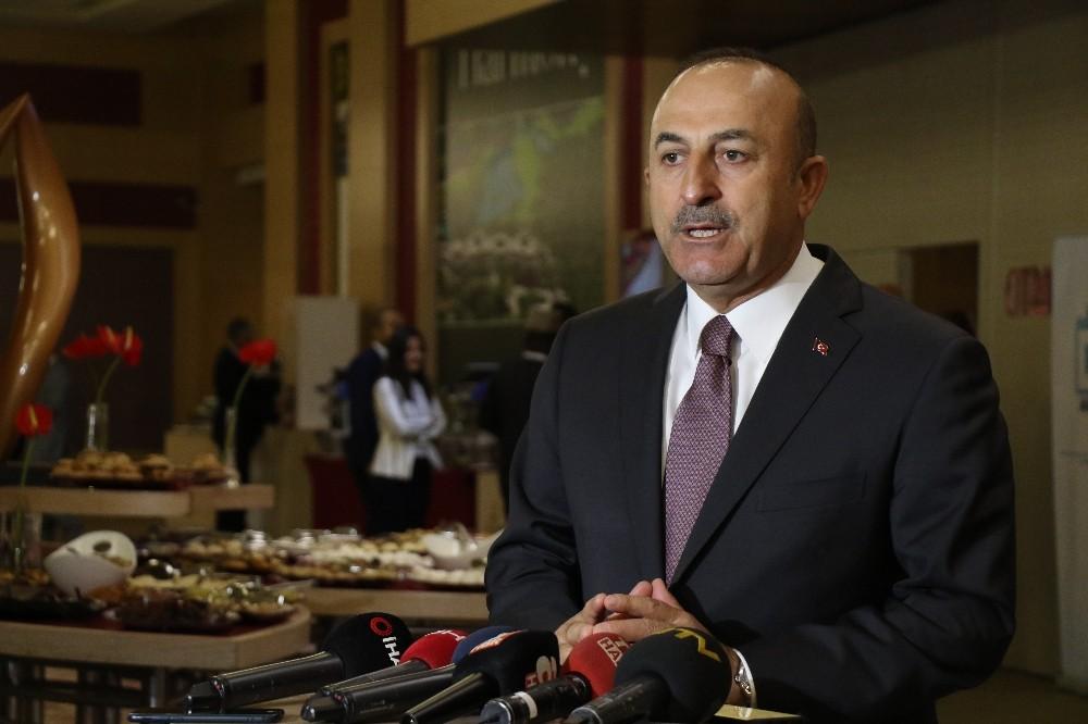 Bakan Çavuşoğlu'ndan ABD ile yaptırımların karşılıklı kaldırılmasına ilişkin açıklama