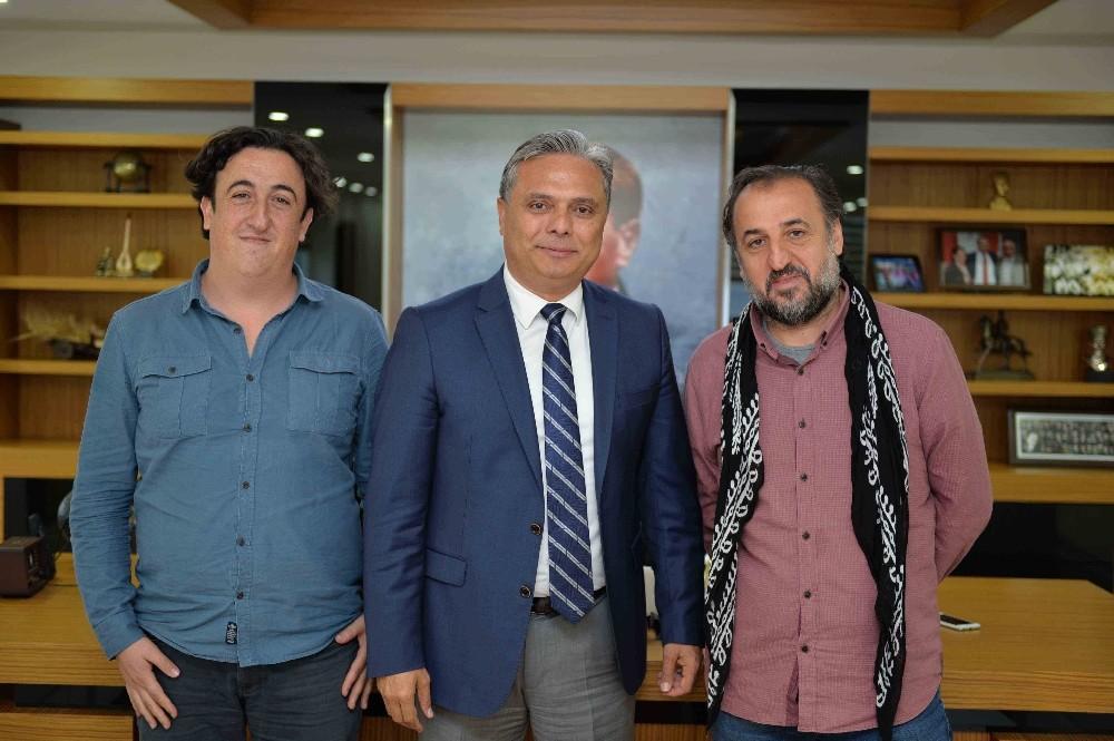 Başkan Uysal, Yönetmen Özcan Alper'i ağırladı