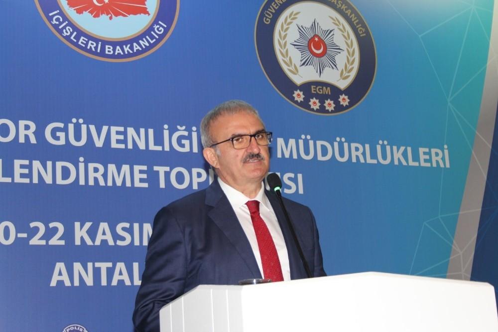Çevik Kuvvet ve Spor Güvenliği Değerlendirme Toplantısı