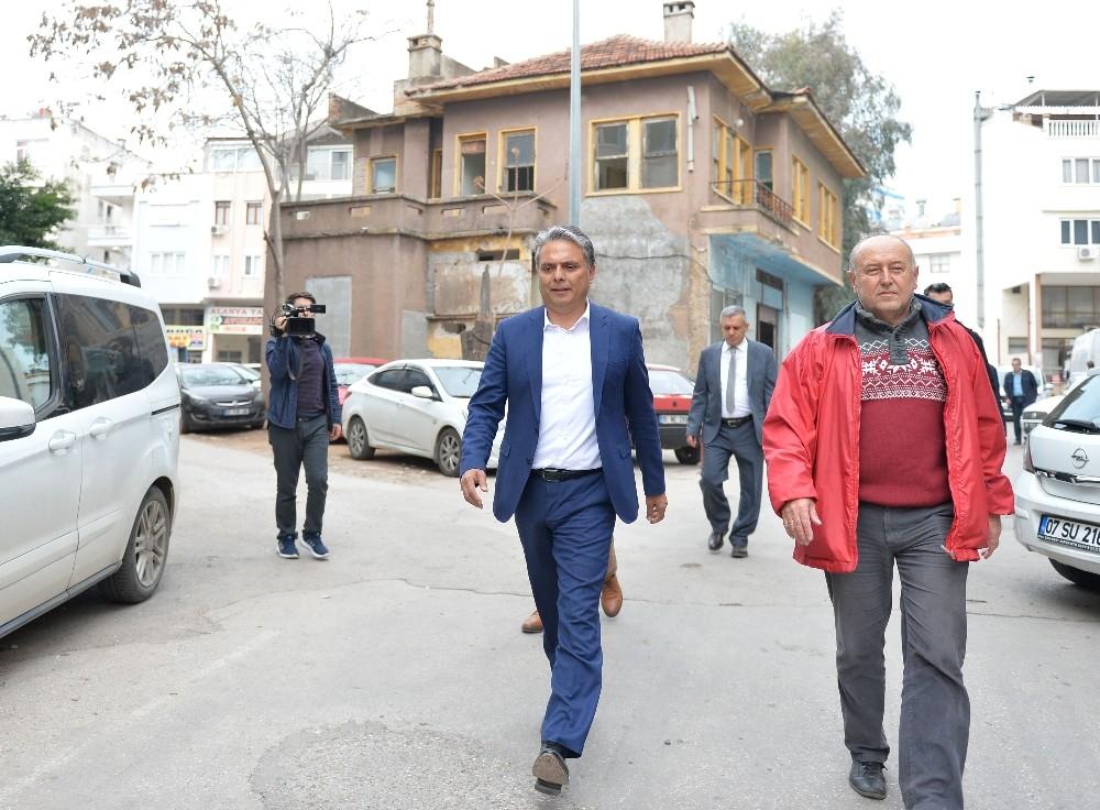 Eski Antalya evi Komşu Evi oluyor