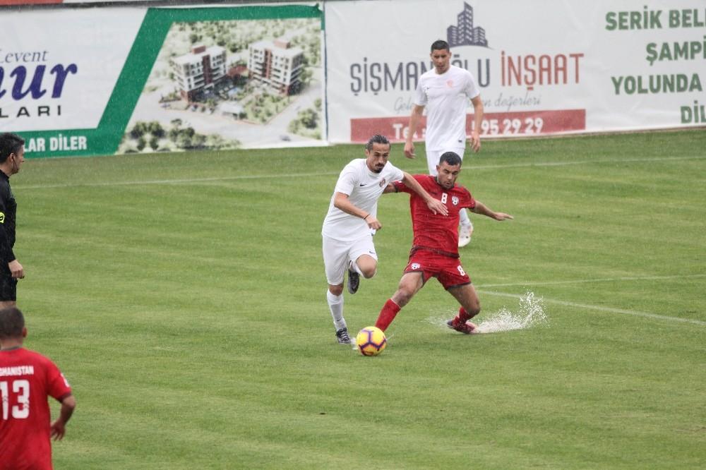 Hazırlık maçı: Antalyaspor: 1 – Afganistan: 0