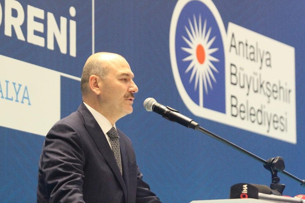 """İçişleri Bakanı Süleyman Soylu: """"Bu yıl terör örgütüne katılım son 30 yılın en düşük seviyesidir"""""""