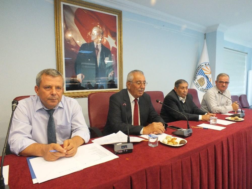 Kaş Belediyesi Kasım ayı meclisi