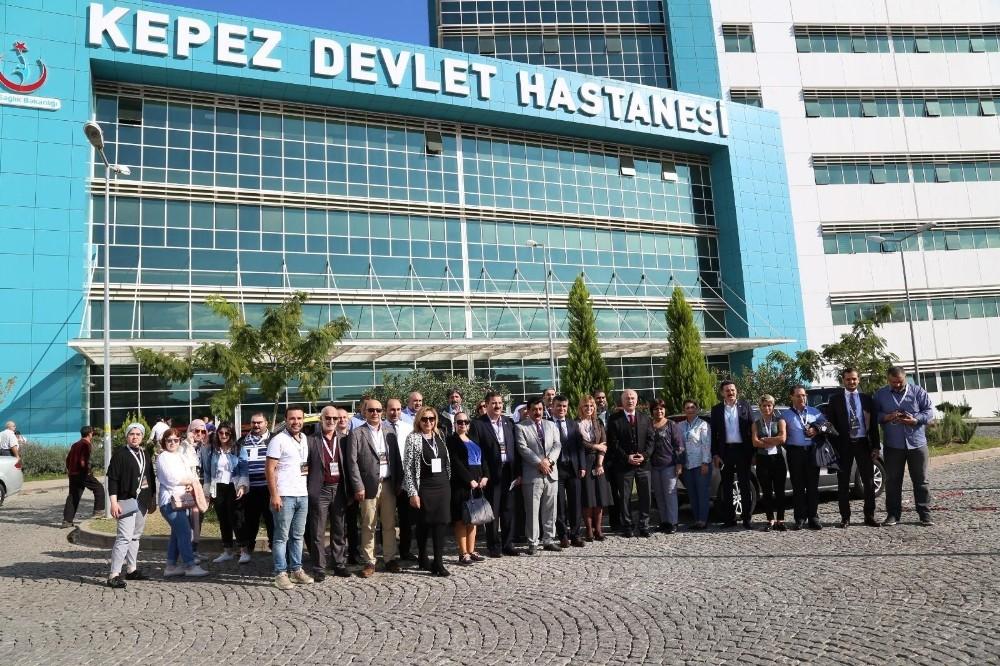 Kepez Devlet Hastanesi'ne uluslararası ilgi