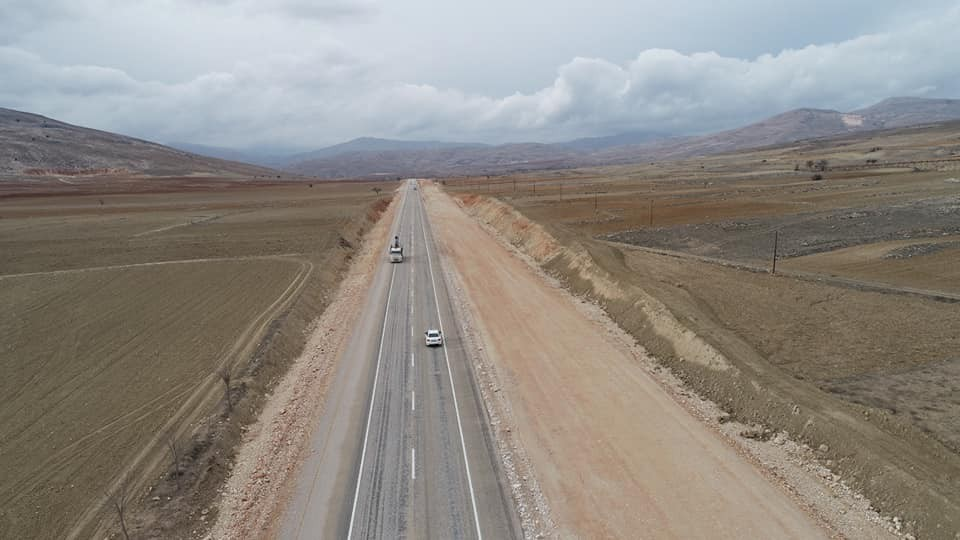 Korkuteli-Elmalı Karayolu trafiğe açıldı