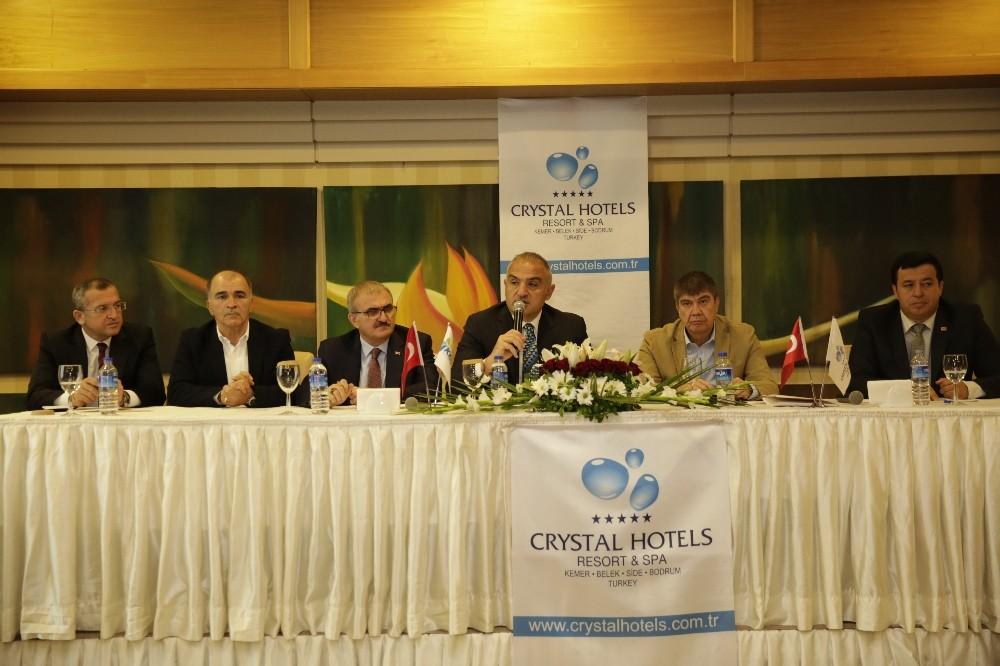 Kültür ve Turizm Bakanı Ersoy, ASAT tesislerini inceledi