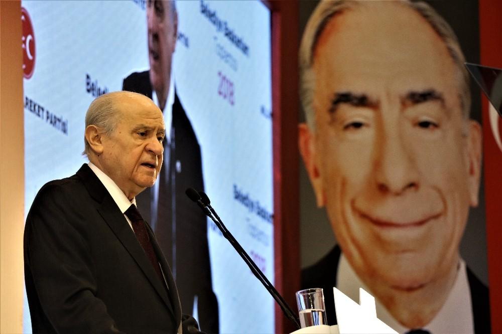 """MHP Genel Başkanı Bahçeli: """"AK Parti'nin adayını ön şartsız destekleyeceğiz"""""""