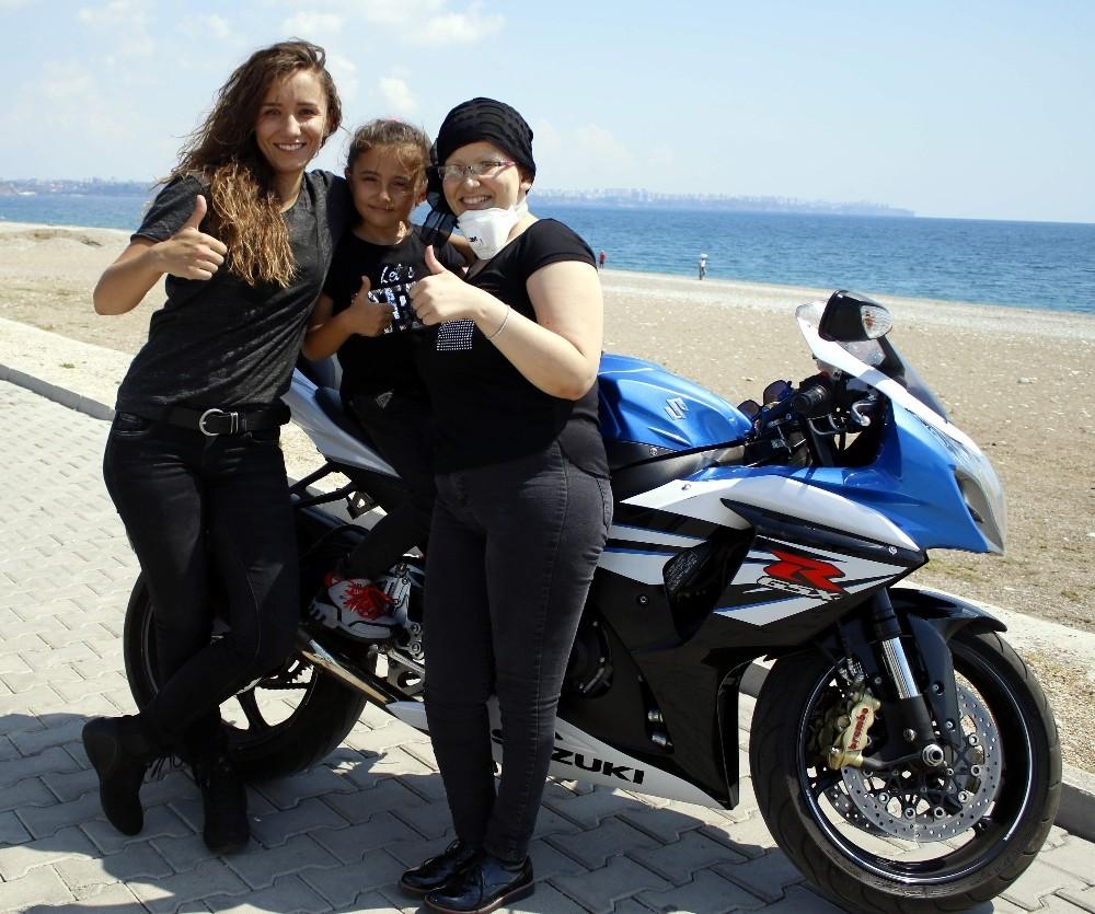 Motosiklet sevgisiyle kanseri yendi şimdi Avrupa turuna çıkmayı planlıyor