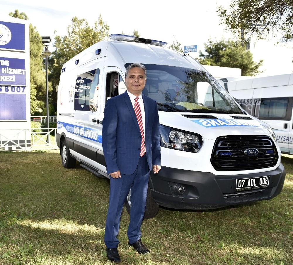 Muratpaşa'ya yeni hasta nakil ambulansı