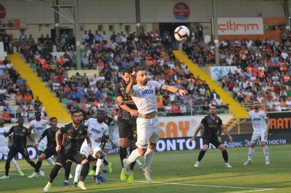 Spor Toto Süper Lig: Aytemiz Alanyaspor: 0 – Evkur Yeni Malatyaspor: 1 (İlk yarı)