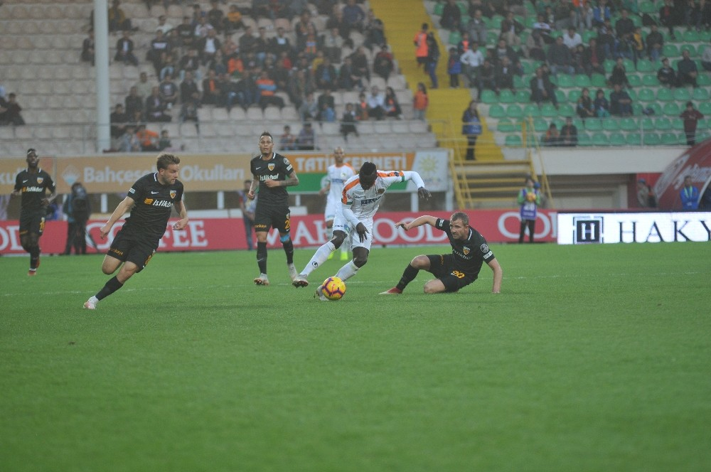 Spor Toto Süper Lig: Aytemiz Alanyaspor: 5 – Kayserispor: 0 (maç sonucu)