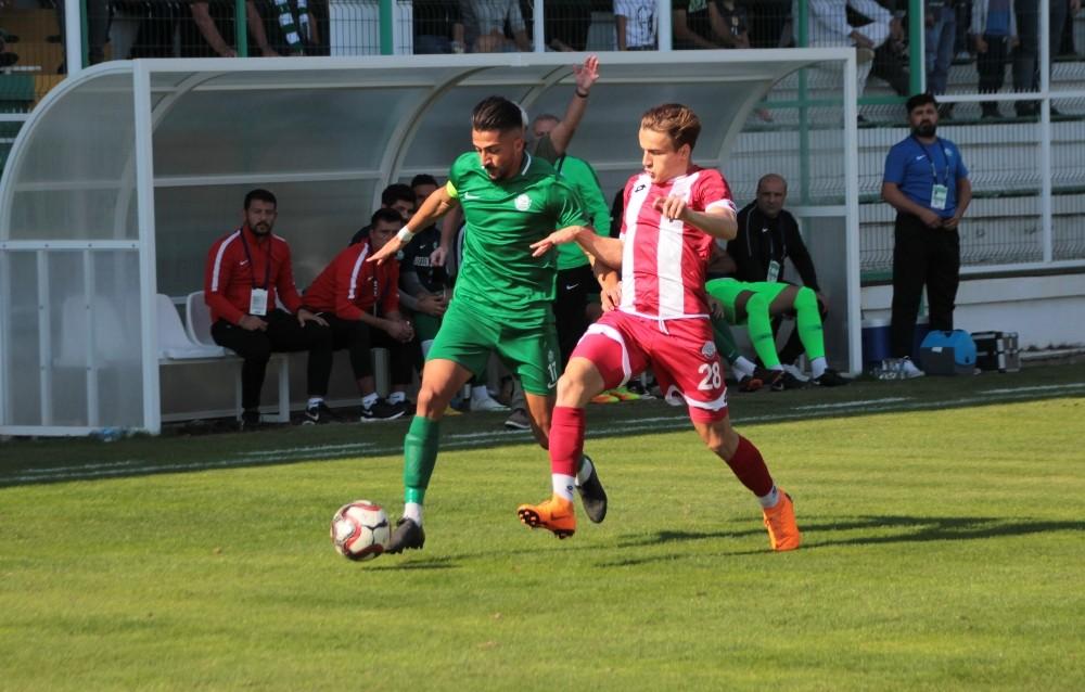 TFF 3. Lig 3. Grup: Serik Belediyespor:1 – Ankara Adliye Spor:1