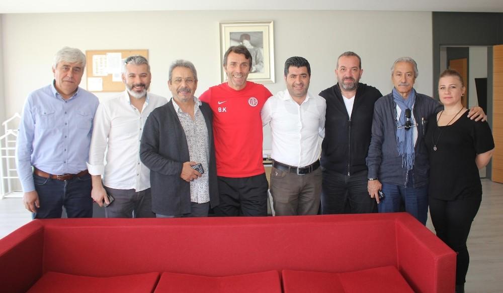 TSYD yönetiminden Antalyaspor ziyareti