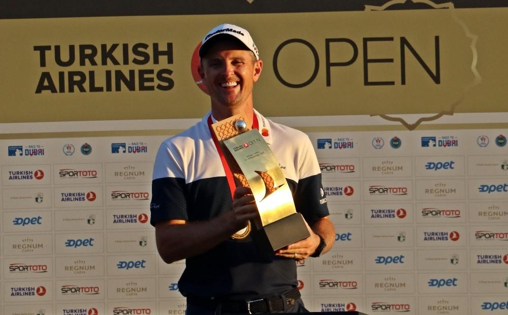 Turkish Airlines Open 2018 Golf Turnuvası şampiyonu İngiliz Rose oldu
