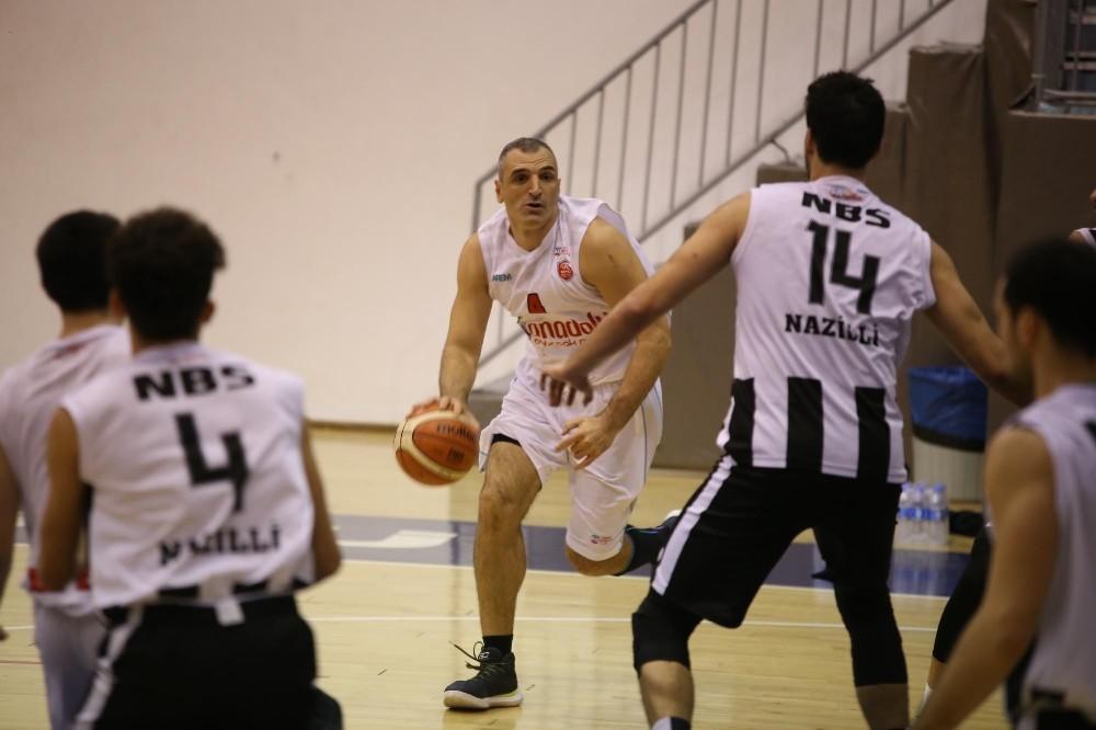 Türkiye Basketbol 2.Ligi: Kepez Belediyespor: 76- Nazilli Belediyespor: 64