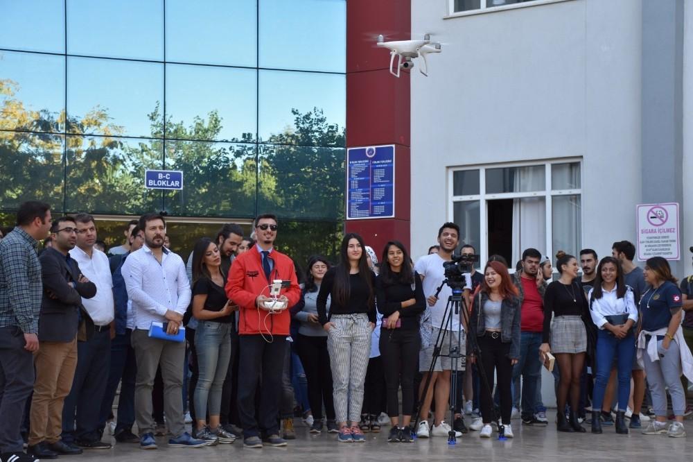 Üniversite öğrencilerine 'Drone' eğitimi