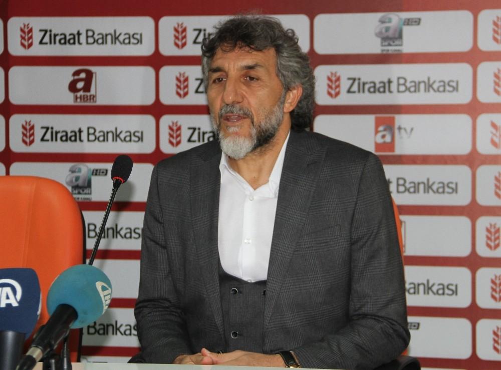 """Adnan Erkan: """"Rakibin bariz üstünlüğüyle hiç istemediğimiz skor oldu"""""""