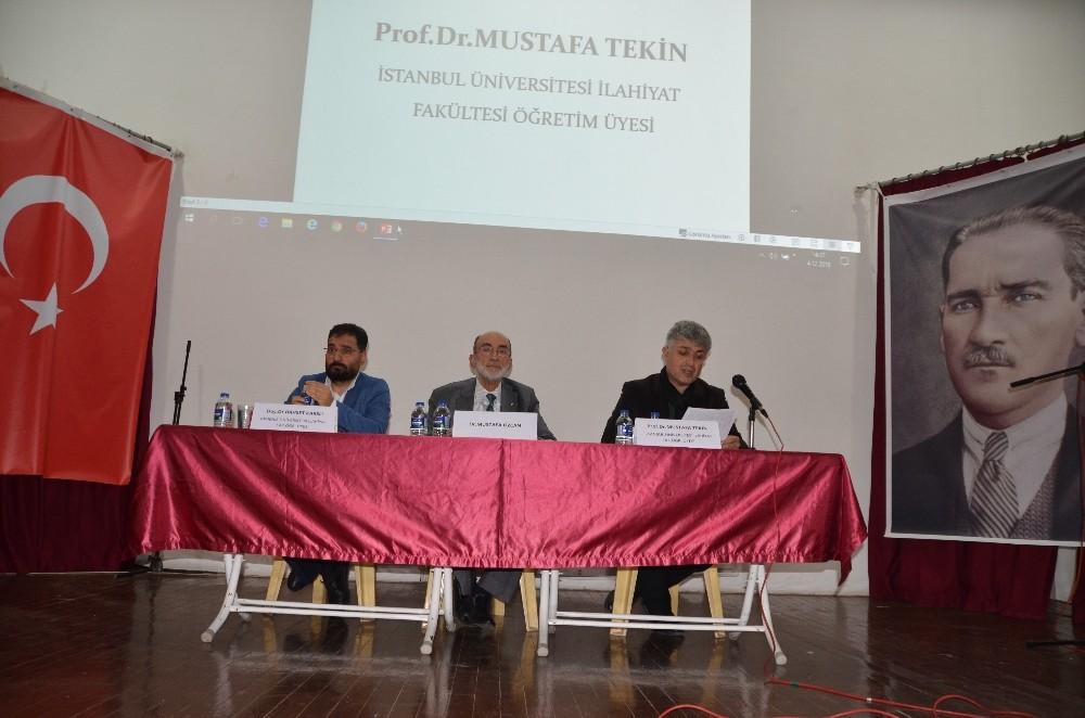 """Akseki'de """"Ahmet Hamdi Akseki"""" Konulu panel düzendi"""