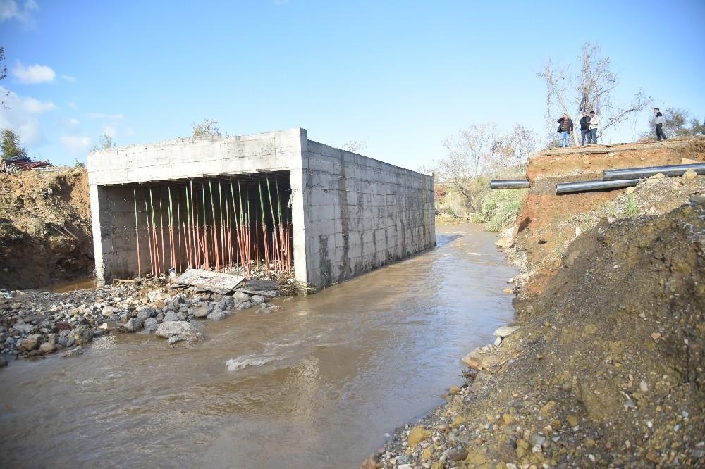 Alanya Hamzalar köprüsü tamamlandı