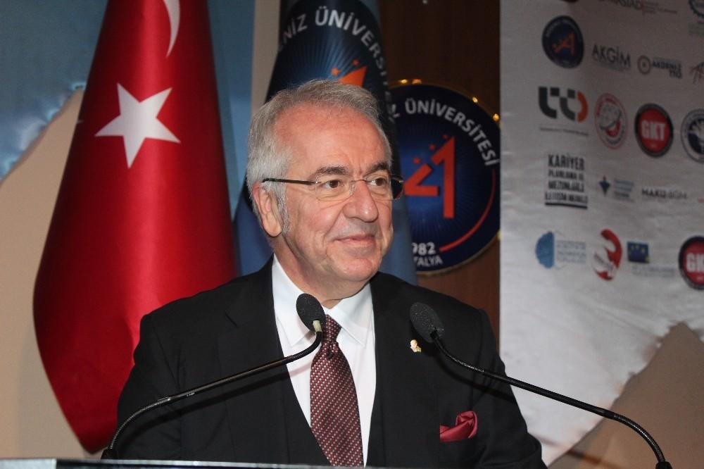"""Antalya Büyükşehir Belediye Başkanı Türel: """"İnovasyonun başrolünde girişimciliğin yer alıyor"""""""