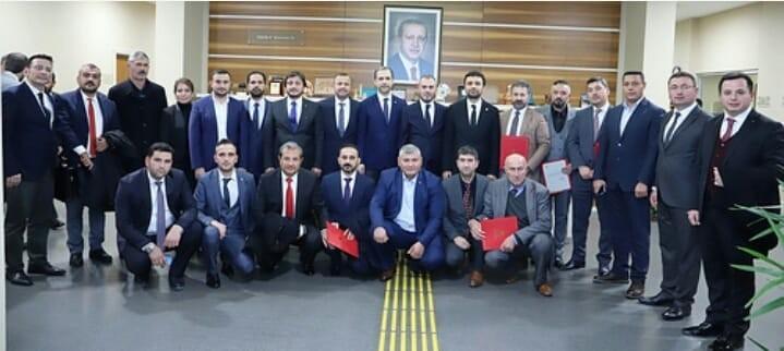 Antalya'da Ak Parti'ye 5 yeni ile başkanı atandı