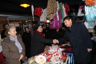 Antalya'da üreten kadınlar Yerli Malı Şenliği'nde buluştu