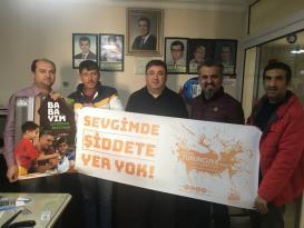 Antalyalı berberler şiddete karşı