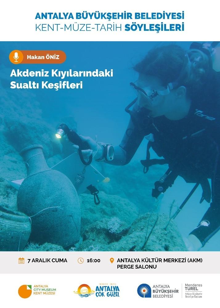 Antalya'nın su altı keşifleri konuşulacak