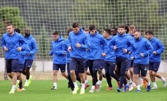 Antalyaspor, Darıca Gençlerbirliği maçı hazırlarını tamamladı