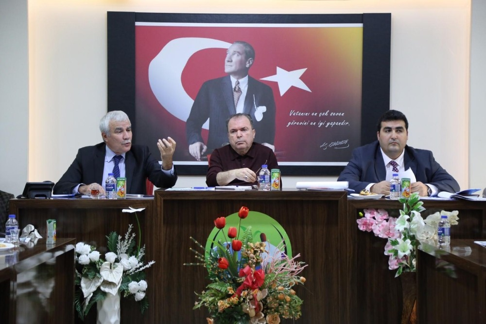 ASAT Genel Müdür Yardımcısı Doğan, Akseki'de muhtarlarla bir araya geldi