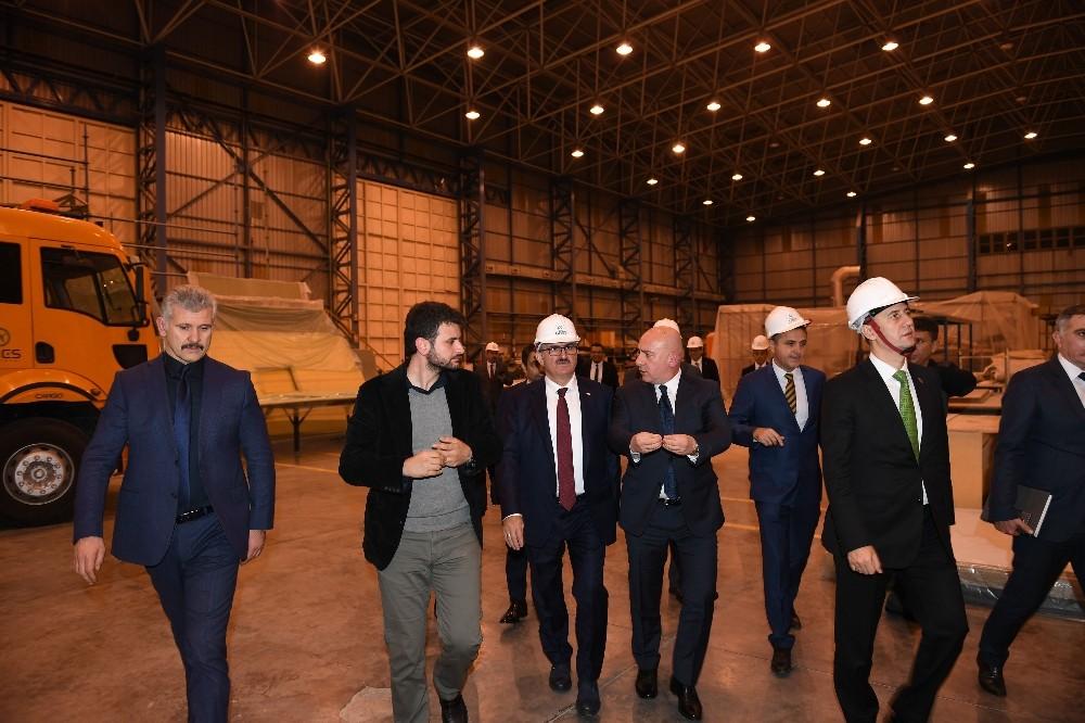 Aselsan Başkanı Görgün, Serbest Bölge'yi inceledi