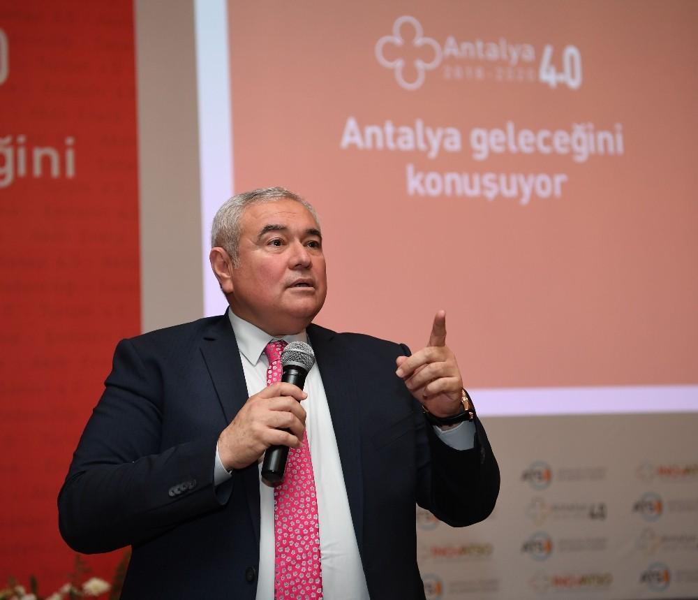 ATSO Antalya 4.0 Projesi kapanış toplantısı yapıldı