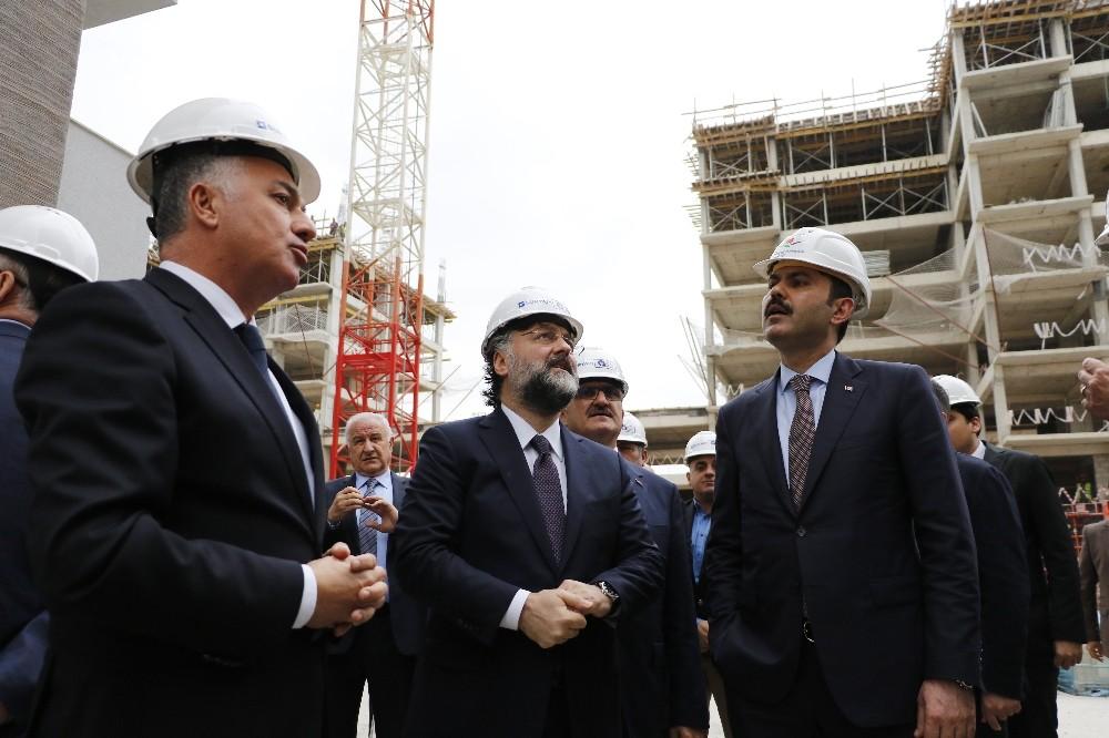"""Bakan Kurum: """"Sur Yapı Antalya, örnek bir şehircilik projesi"""""""