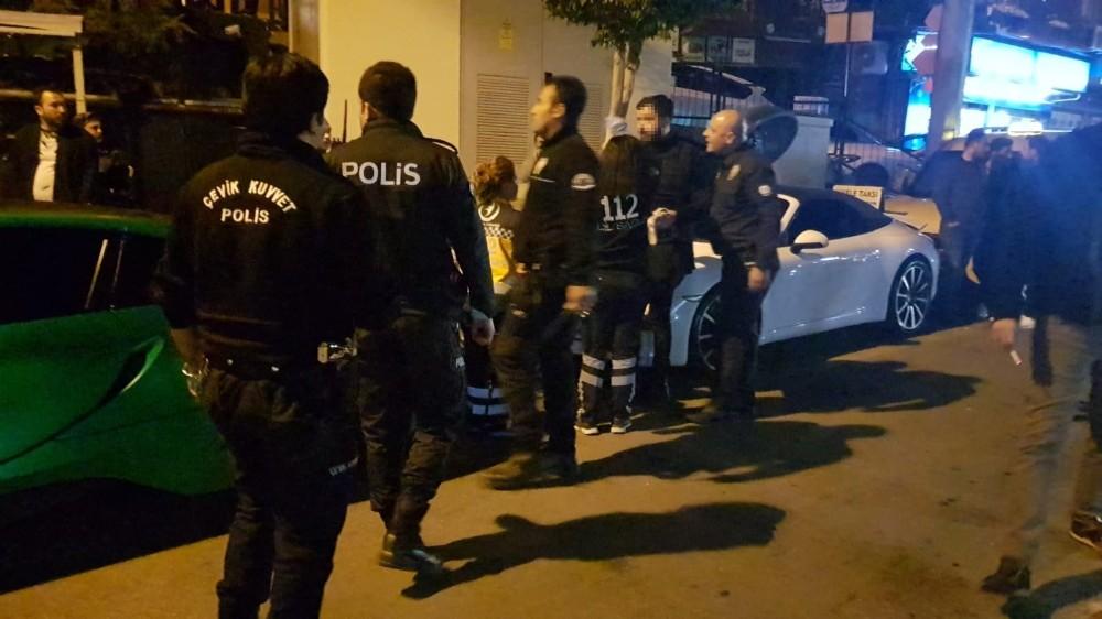 Bardaki tartışma sonrası dışarıda silahını çekip havaya ateş açtı