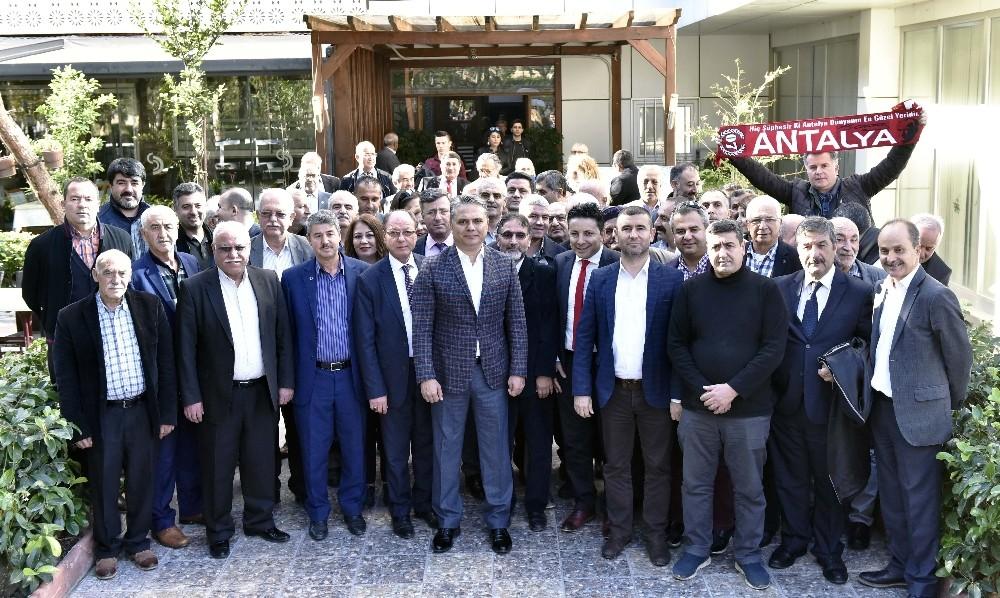 Başkan Uysal Yörük – Türkmen dernekleriyle