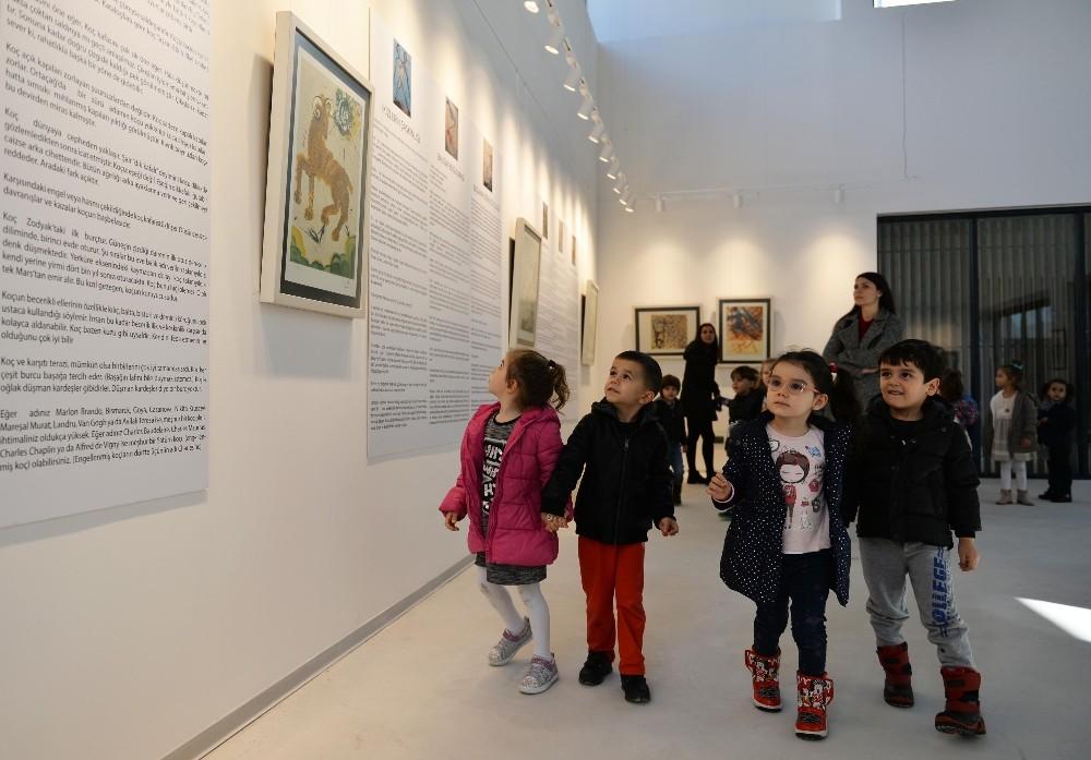Çocuklar Dali resimleriyle tanıştı