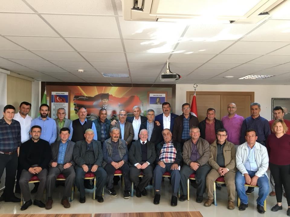 Kaş Ziraat Odası delege seçimleri