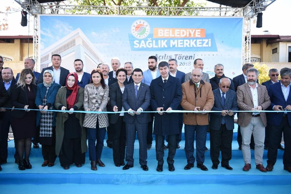 Kepez'in 5 yıldızlı sağlık merkezi açıldı